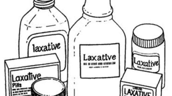 Using Laxatives? - Be Careful