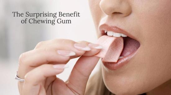 Lazy Brusher? Here's why you should try chewing gum!