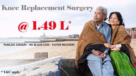 Knee Replacement Surgery @ 1.49 L*