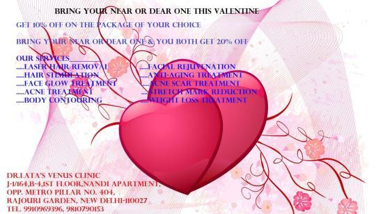 Celebrate This Valentine With More Beautiful You