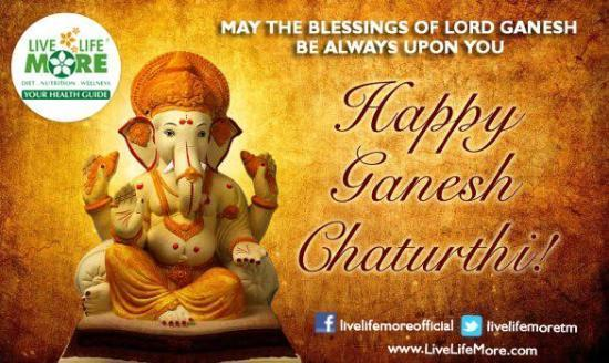 May the blessing of Lord Ganesh be always upon you!