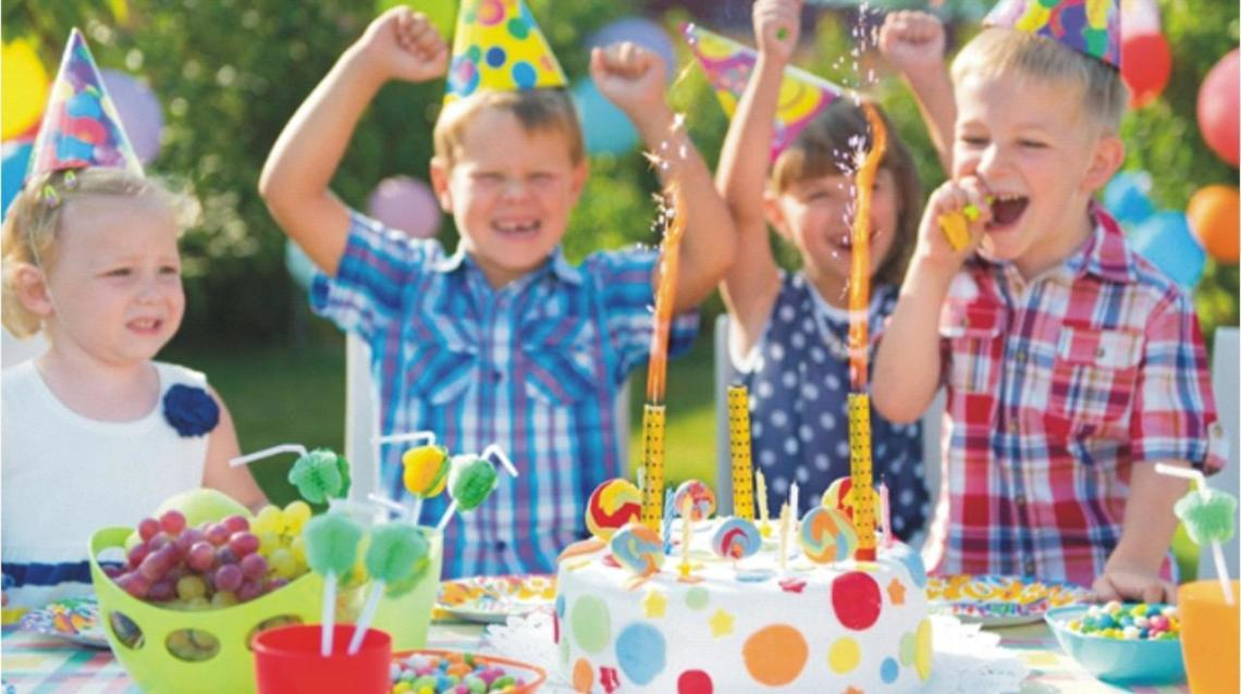 Be the Trend Setter, Celebrate Healthy Birthday Parties
