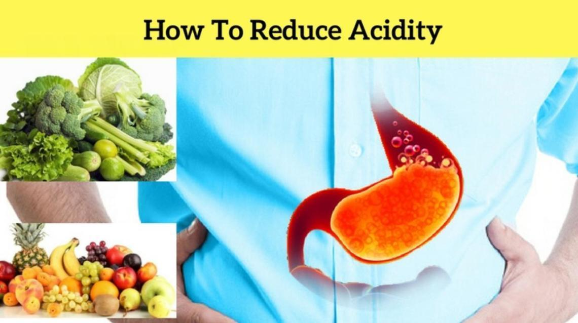 5 Tips to reduce Acidity