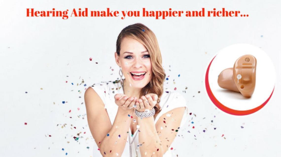 Hearing Aids Make You Happier and richer...