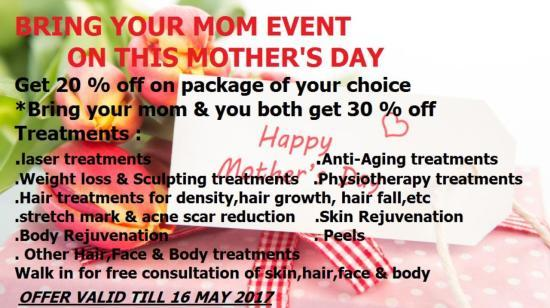 Bring Your Mom Event