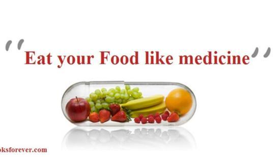 Eat Your Food Like Medicine