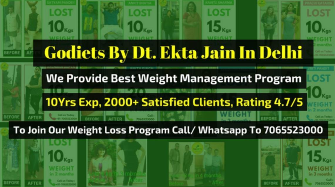 Pooja Gautam Lost 9kgs Weight in 3 Months   Godiets Delhi  