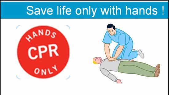 You Can Save a Life by Giving Hands-Only Cpr !