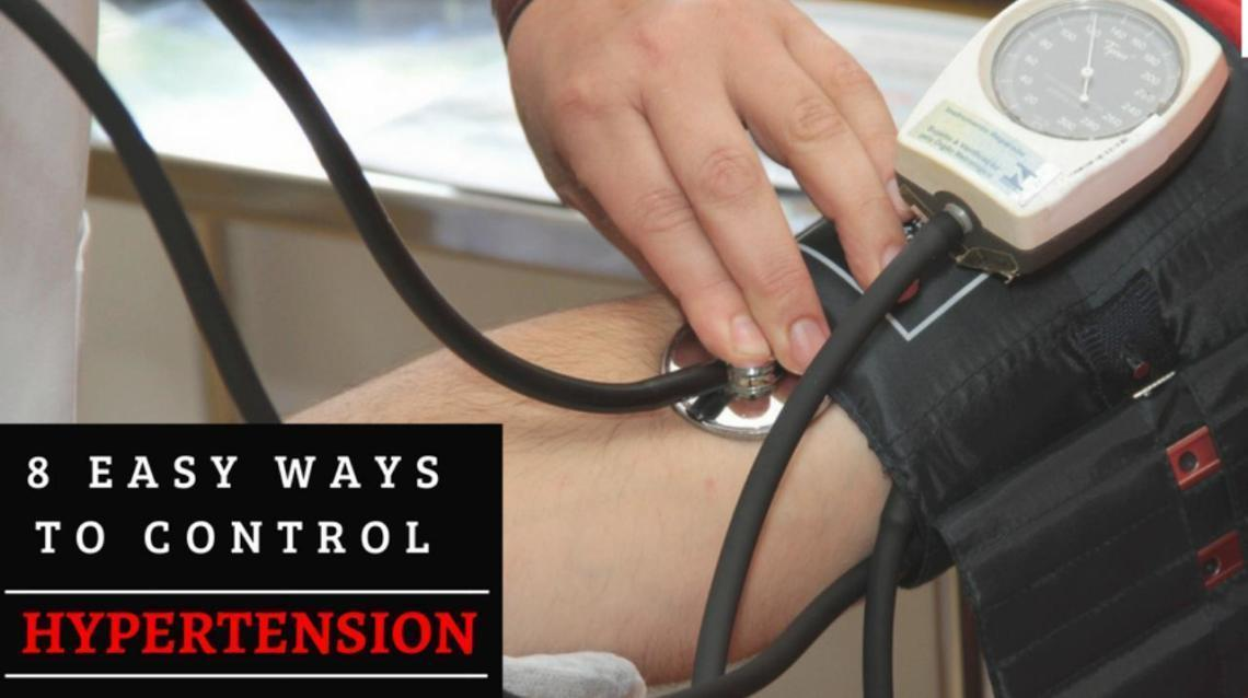 "8 Easy Ways to Control ""Hypertension"""