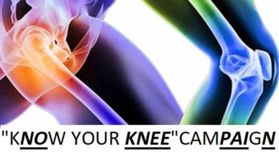 Know Your Knee Campaign