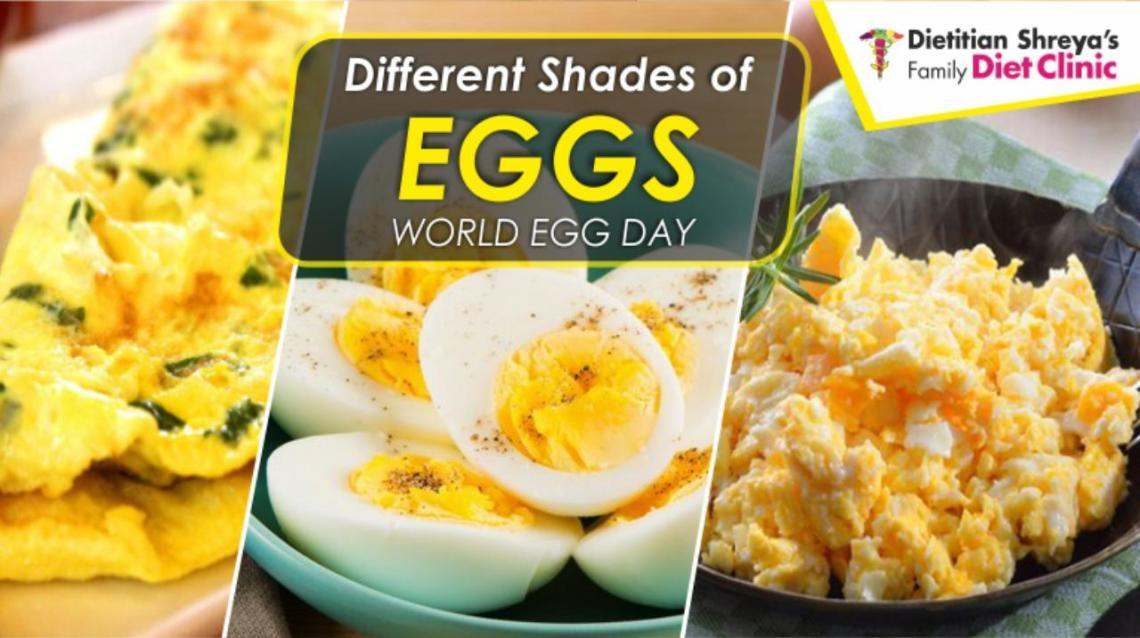 Different Shades of Eggs