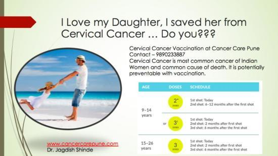 I Love My Daughter, I Saved Her From Cervical Cancer … Do You???