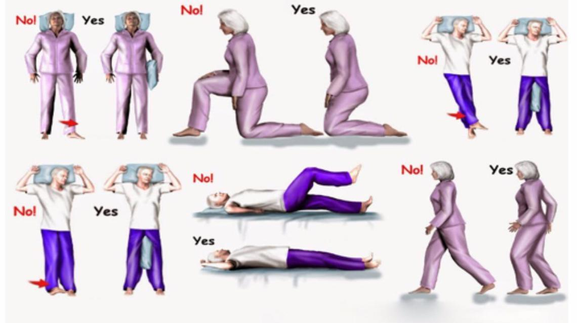 Precautions After Hip Replacement Surgery