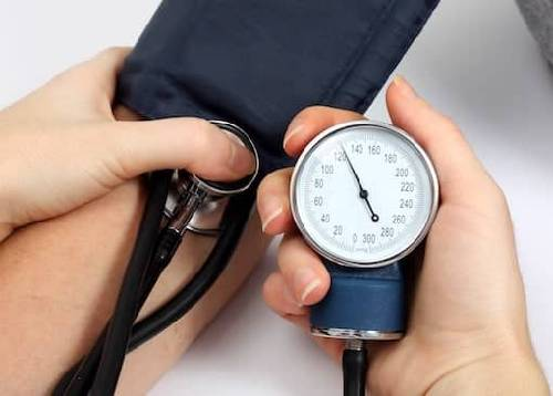 Presión arterial 169/110