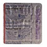 Melmet 1000 MG Tablet SR by Micro Labs Ltd.