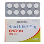 Etrik 120 MG Tablet by Alembic Ltd.