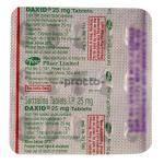 Daxid 25 MG Tablet by Pfizer Ltd.