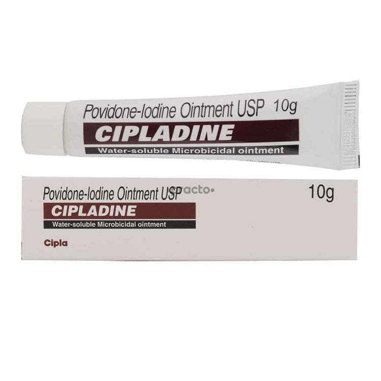 CIPLADINE 5% Ointment 10GM