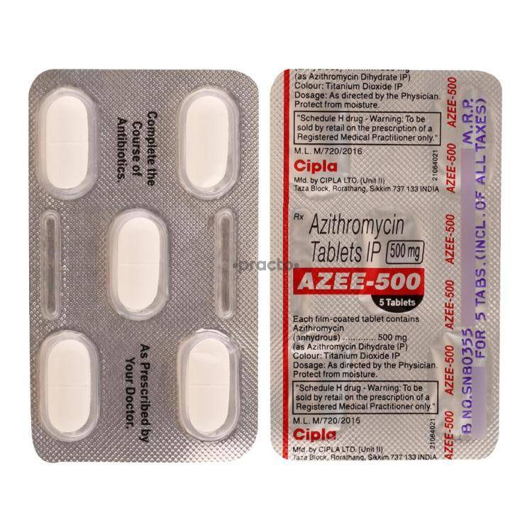 AZEE 500MG Tablet 5`S
