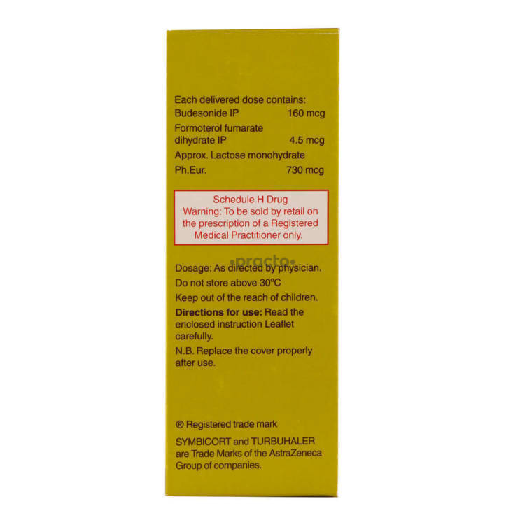 Symbicort 16045 Turbuhaler Uses Dosage Side Effects Price
