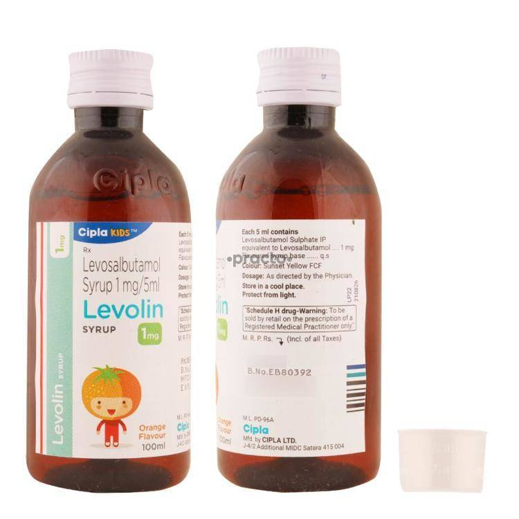 LEVOLIN Syrup 100ML