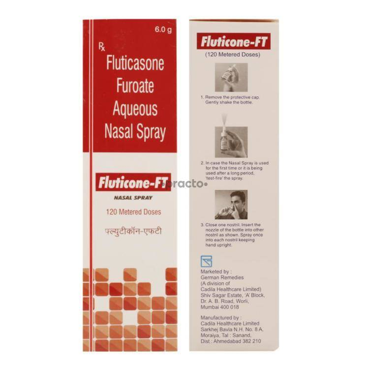 Fluticone Ft Nasal Spray Uses Dosage Side Effects Price