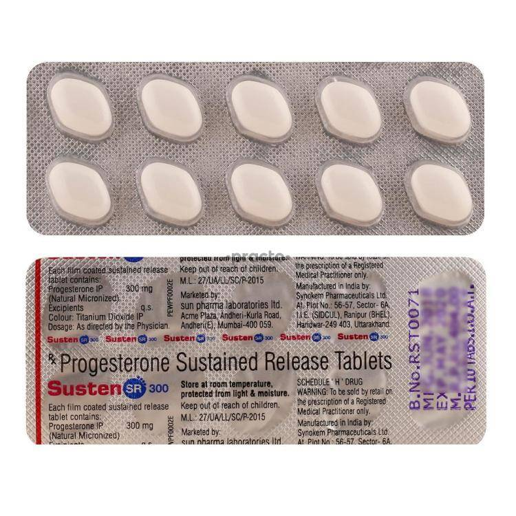 SUSTEN SR 300MG Tablet 10`S