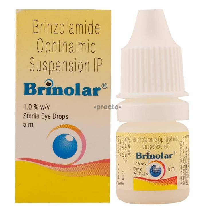 BRINOLAR EYE DROPS 5ML