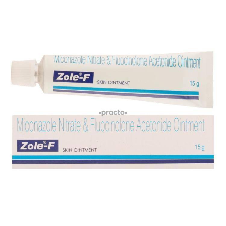 ZOLE F Ointment 15GM