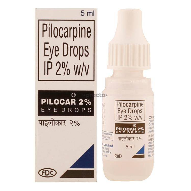 Pilocar 2 Eye Drops Uses Dosage Side Effects Price