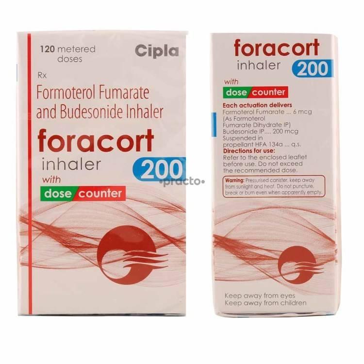 Foracort 200 Inhaler Uses Dosage Side Effects Price
