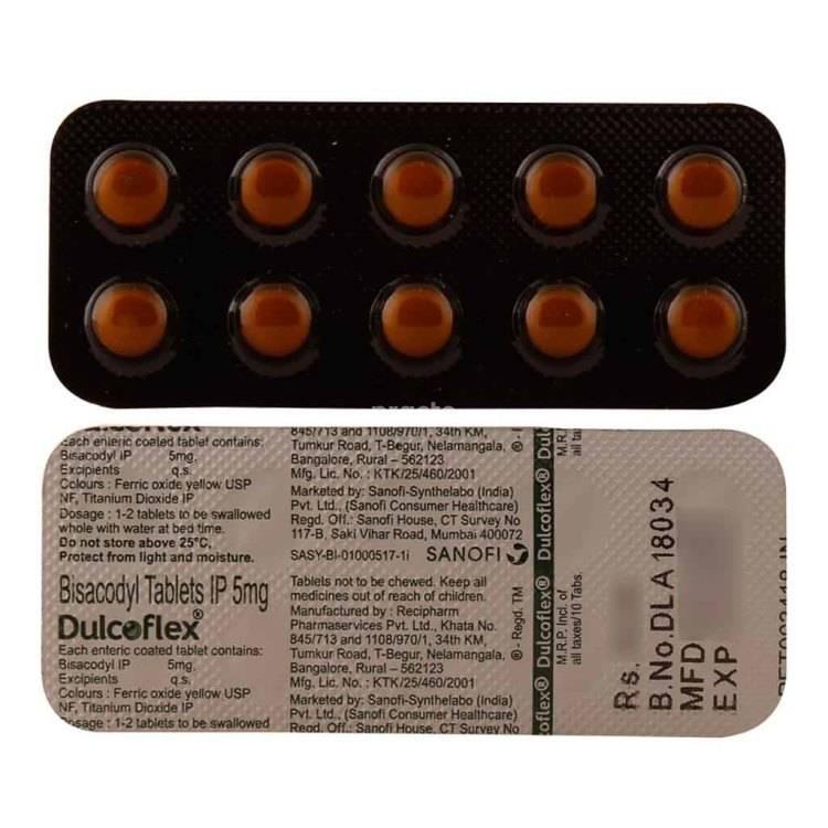 DULCOFLEX Tablet 10`S