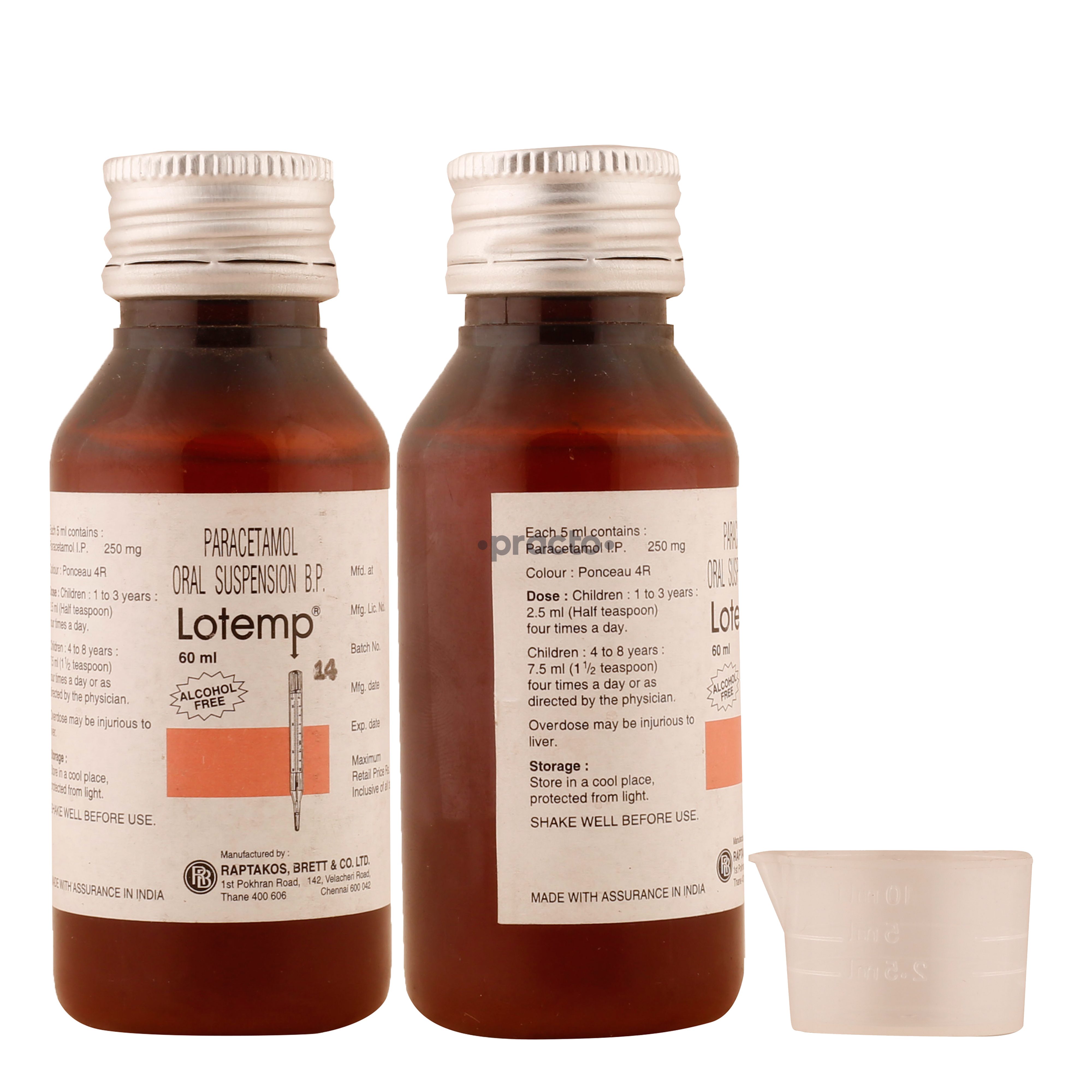 LOTEMP SUSP 60ML