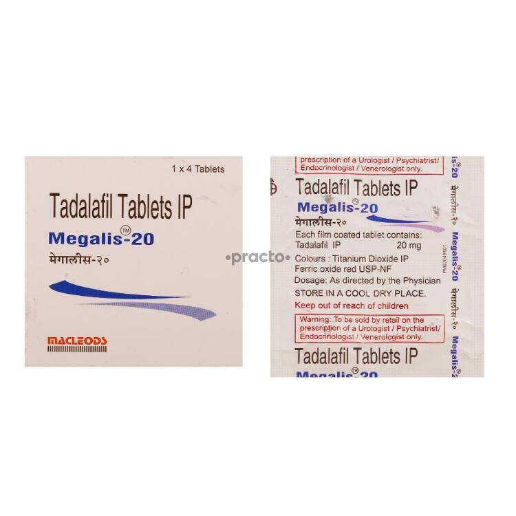 Megalis 20 Mg Tablet Uses Dosage Side Effects Price Composition Practo