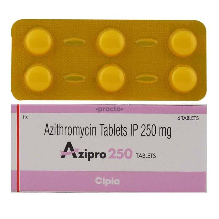 genérico azitromicina 250mg tableta