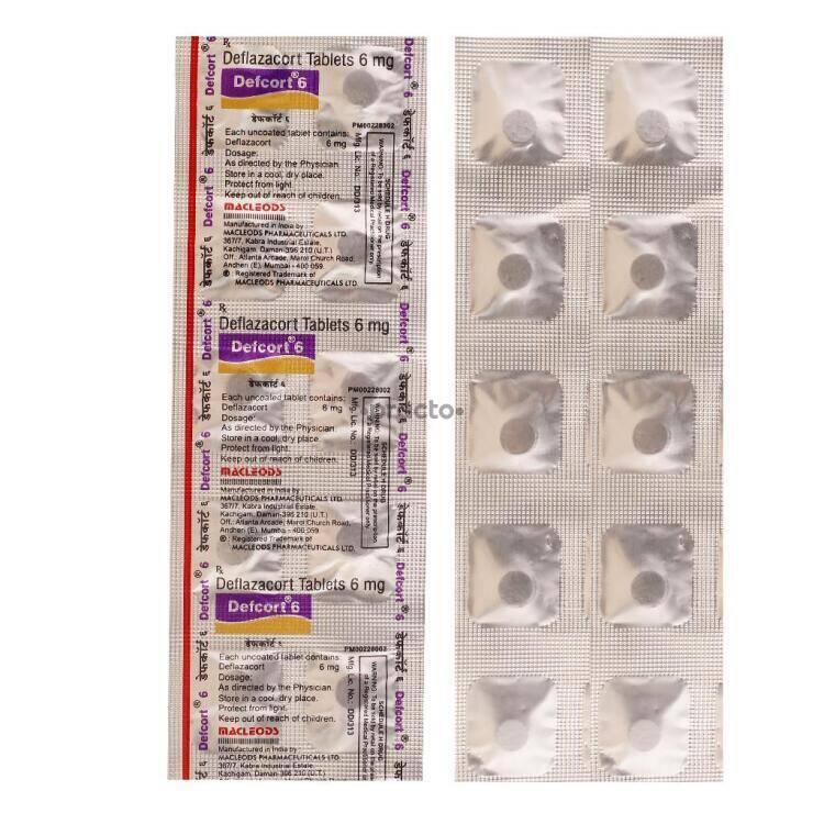 Defcort 6 MG Tablet - Uses, Dosage, Side Effects, Price ...