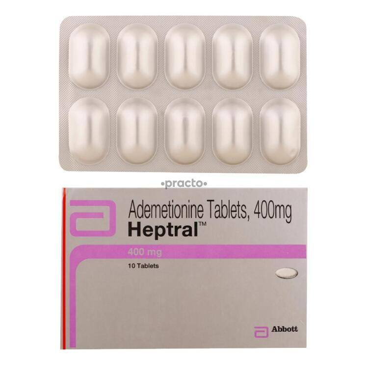 Heptral 400 Mg Tablet Uses Dosage Side Effects Price Composition Practo