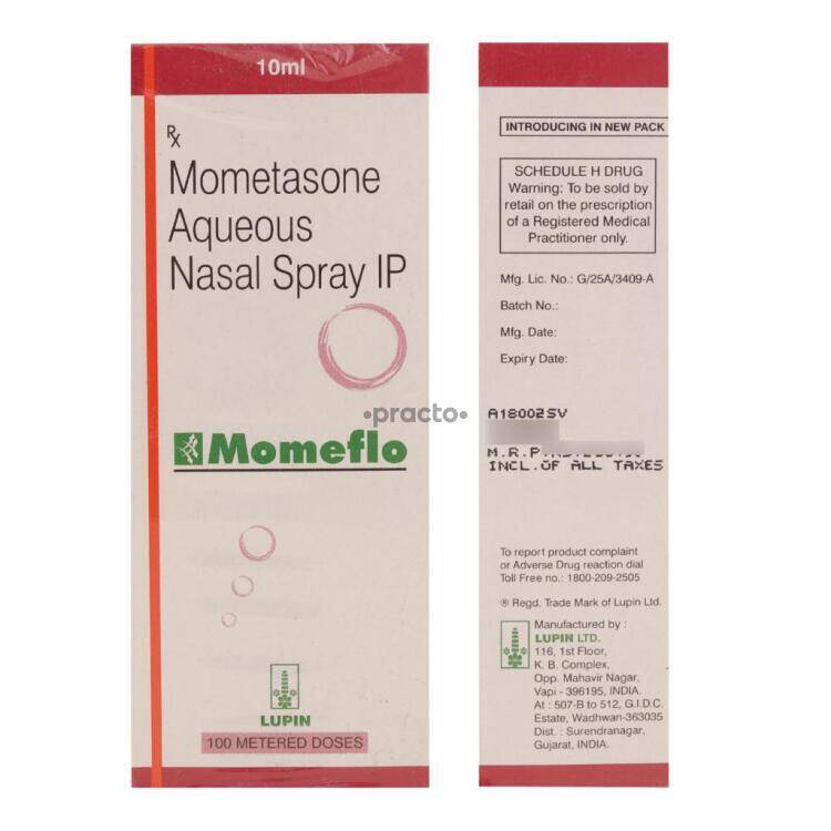 Momeflo 50 Mcg Nasal Spray Uses Dosage Side Effects Price Composition Practo