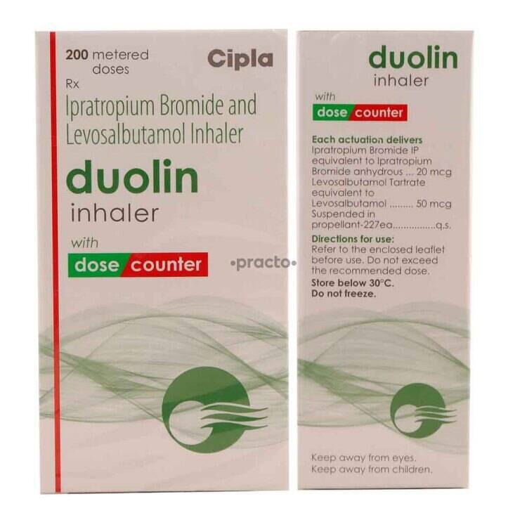 Duolin Inhaler - Uses, Dosage, Side Effects, Price, Composition | Practo